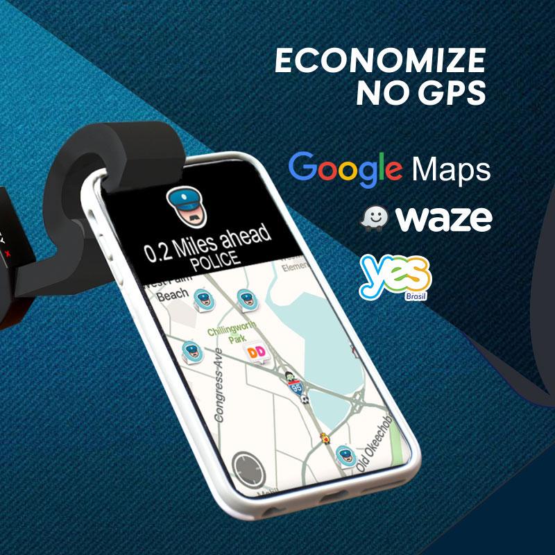Economize, dê adeus ao aluguel de GPS