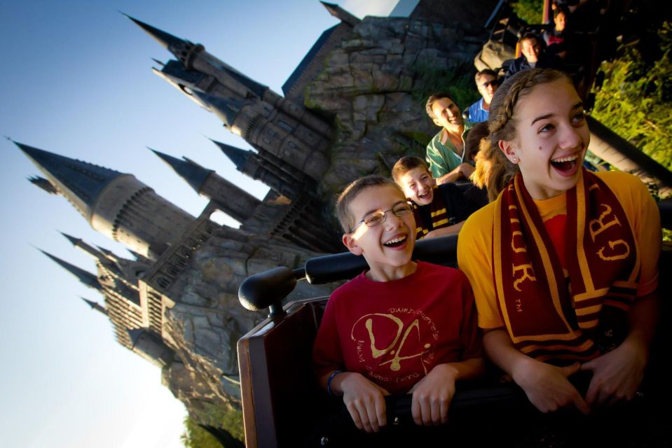Montanha russa no Castelo de Hogwarts