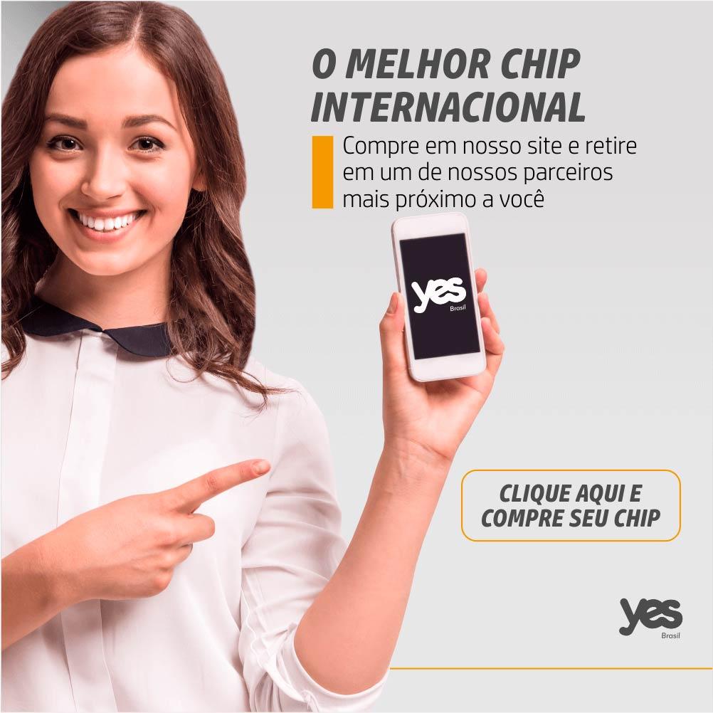 O melhor chip internacional