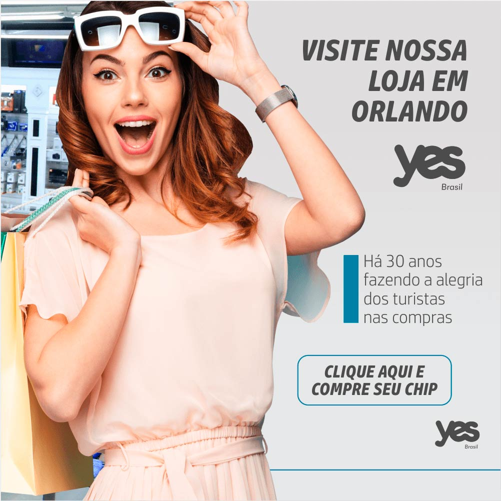 Visite nossa loja em Orlando